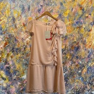 NWT 3 Sussies Collection Ruffled Drop Waist Dress